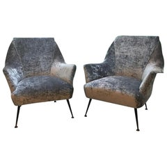 1950s Italian Pair of Armchairs