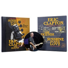 """Sunshine of Your Love,"" Signed, Limited Edition Book by Eric Clapton & Friends"