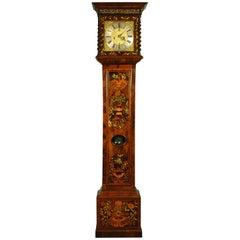 Fine Marquetry Longcase Grandfather Clock, Joseph Norris
