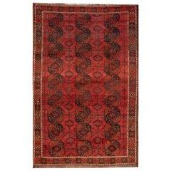 20th Century Vintage Turkaman Rug