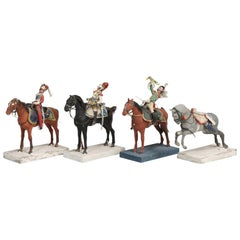 Set of 4 Historic French Military Figures