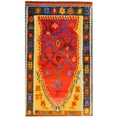 Fantastic Early 20th Century Turkish Kilim Rug