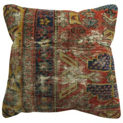 Persian Distressed Rug Pillow