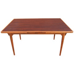 Rosewood Expansion Dining Table by Gunni Omann for Omann Jun