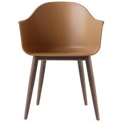 Harbour Chair, Dark Oak Legs, Burned Yellow Shell