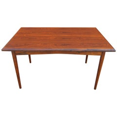 Danish Modern Rosewood Dining Table