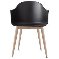 Harbour Chair, Natural Oak, Black Shell