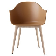 Harbour Chair, Natural Oak, Burned Yellow Shell