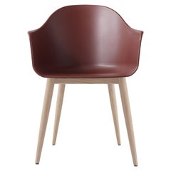 Harbour Chair, Natural Oak, Red Shell