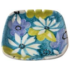 Raymor Floral Italian Ceramic Bowl