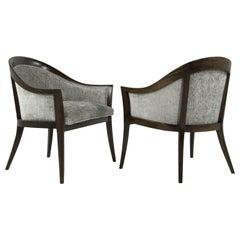 Harvey Probber Saber Leg Lounge Chairs, 1950s