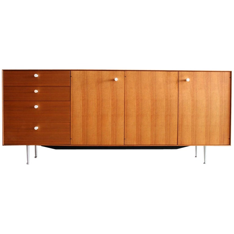 Thin Edge Cabinet or Credenza by George Nelson for Herman Miller For Sale