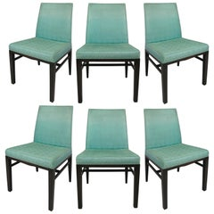 Set of Six Dining Chairs by Edward Wormley for Dunbar
