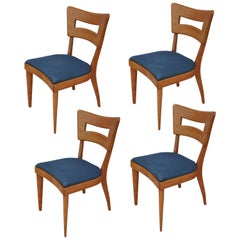 Set of Four Vintage Heywood Wakefield Dogbone Dining Chairs