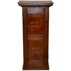 19th Century Shotgun Cartridge Cabinet