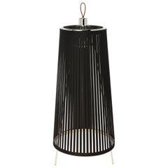Solis 24 Freestanding Lamp in Black by Pablo Designs