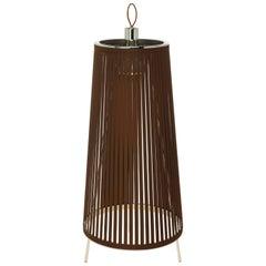 Solis 24 Freestanding Lamp in Brown by Pablo Designs