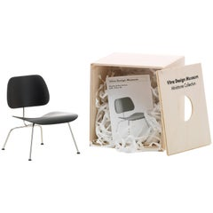 Vitra Miniature LCM Chair in Black by Charles & Ray Eames