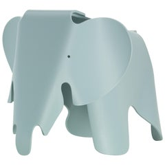 Vitra Small Eames Elephant in Ice Grey by Charles & Ray Eames