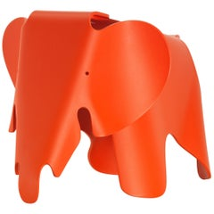 Vitra Small Eames Elephant in Poppy Red by Charles & Ray Eames