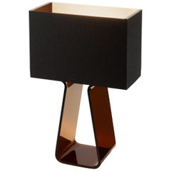Tubetop 14 Table Lamp in Charcoal by Pablo Designs