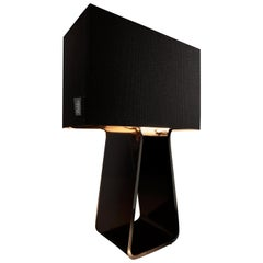 Tubetop 27 Table Lamp in Charcoal by Pablo Designs