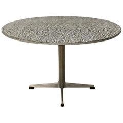 1968, Arne Jacobsen & Piet Hein for Fritz Hansen, Super Circular Coffee Table