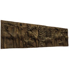 1960s Scandinavian Wall Hanging Sculpture