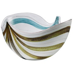Bowl Designed by Stig Lindberg for Gustavsberg, Sweden, 1950s
