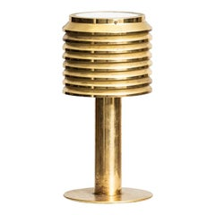 Hans-Agne Jakobsson Table Lamp Model B-142 in Brass