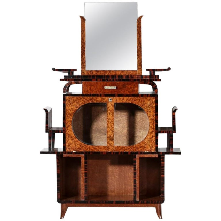 Modernist cabinet in the style of Ettore Sottsass, 1940s, offered by Danke Galerie