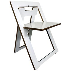 Mid-Century Modern Leo Salom Style Pendulum Folding Chair