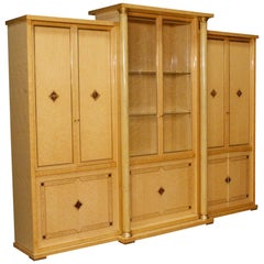 20th Century Wood 12 Doors Italian Bookcase, 1970