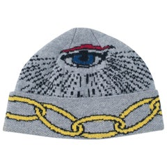 Eye Cashmere Beanie by Saved, New York