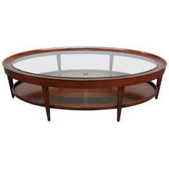 Baker Milling Road Glass Top Coffee Table
