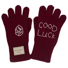 Good Luck Cashmere Gloves by Saved, New York