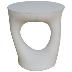 Grey Short Kreten Side Table from Souda, Factory 2nd