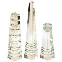 Postmodern Crystal Obelisks