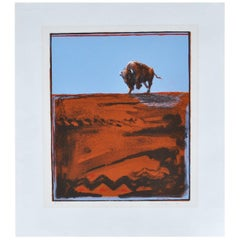 Larry Fodor Buffalo State 1 Signed and Numbered Lithograph, 1979 'MR12311'