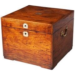 Anglo-Indian Padouk Box