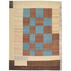 Mid-Century Modern Persian Flat-Weave