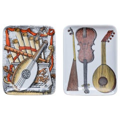Two Fornasetti Music Dishes