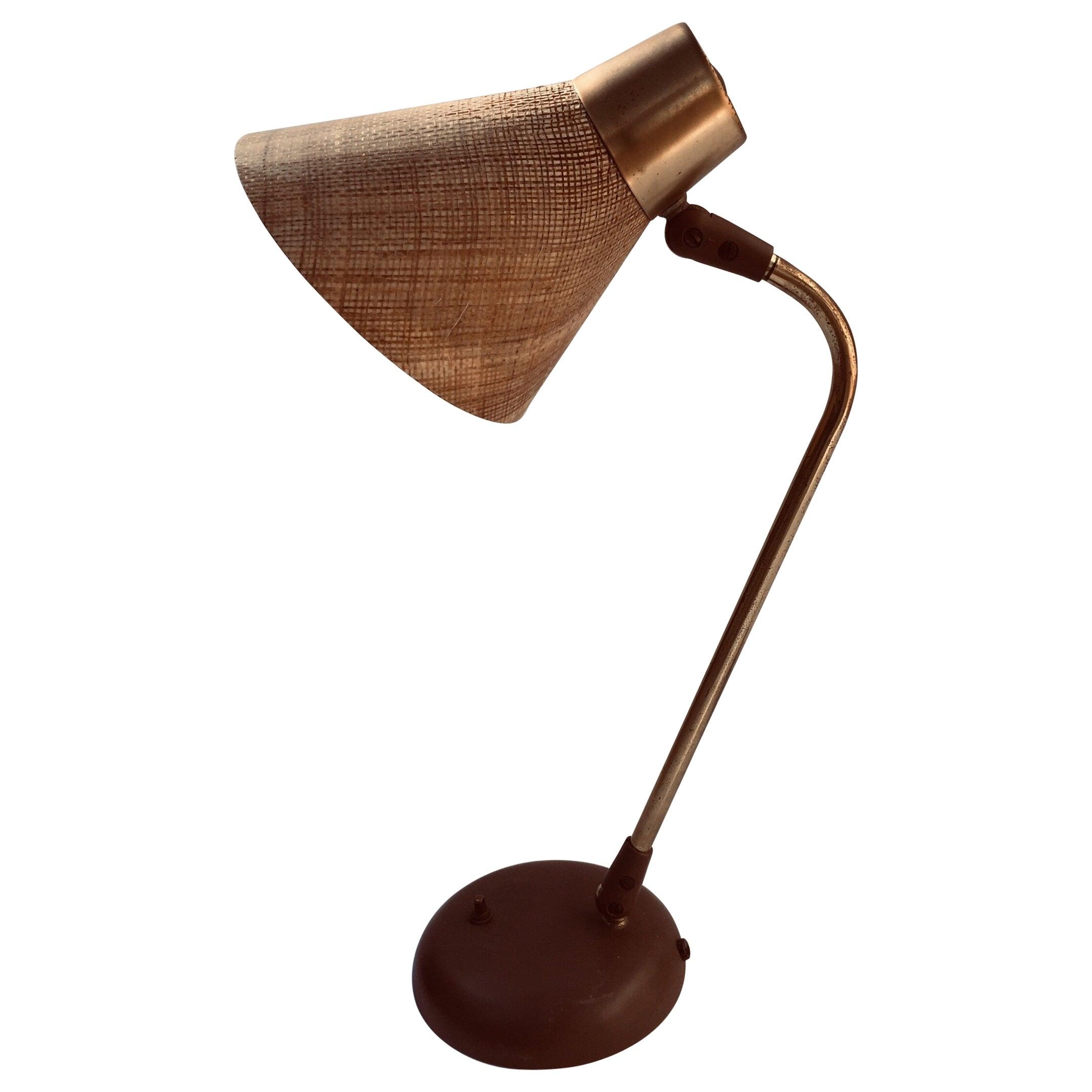 Gerald Thurston Desk Table Lamp for Lightolier, 1950s