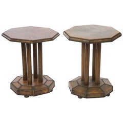 Pair of Interesting French Bistro Tables