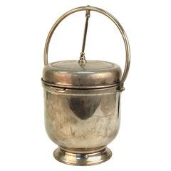 Modernist Style Chrome Ice Bucket
