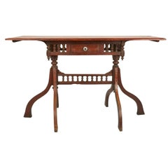 Mid-20th Century Wood Desk from Inle Lake, Myanmar