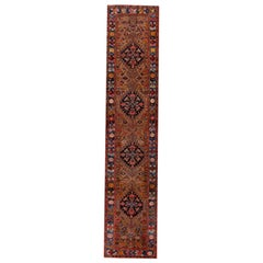 Antique Heriz Runner Rug
