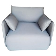 Offset Sofa Chair, 1-Seat, Grey, Designed by Norm Architects
