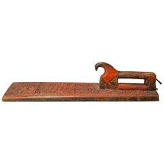Richly Carved Swedish Mangle Board