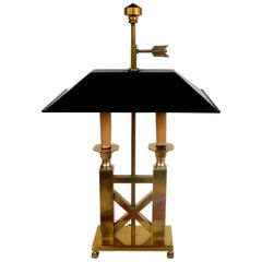 Frederick Cooper Brass and Tole Desk Lamp